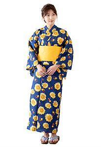 Yukata mit Muster für Damen