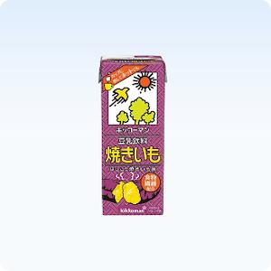 حليب كيكّو مان مع البطاطا الحلوة
