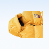 <b>Shaped hood</b><br> for warmth