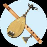 آلات موسيقية يابانية