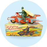 Vintage Spielzeug